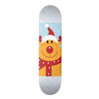 Planche à roulettes de renne de Noël Planches À Roulettes Customisées