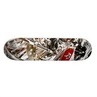 Planche à roulettes de roue de tonnerre planches à roulettes customisées