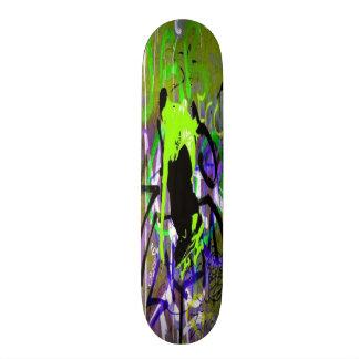 Planche à roulettes de rue de graffiti skateboards cutomisables