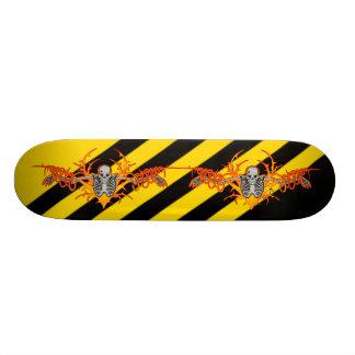 Planche à roulettes de squelette de vol plateaux de skate