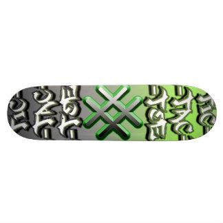 Planche à roulettes de Tic-TAC-Orteil Skateboards Cutomisables