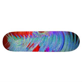 Planche à roulettes de tornade d'arc-en-ciel plateaux de skate