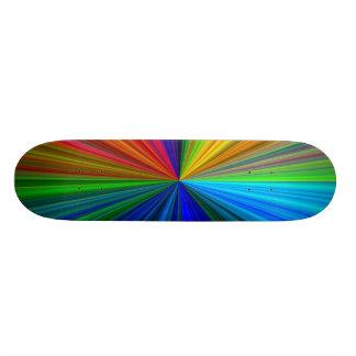 Planche à roulettes d'éclat d'arc-en-ciel mini skateboard 18,7 cm