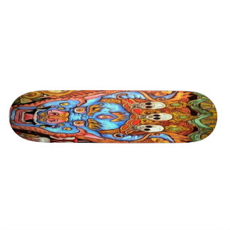 Planche à roulettes démoniaque skateoard personnalisé