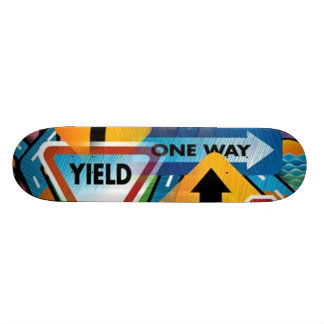 Planche à roulettes des plaques de rue #1 skateboards cutomisables