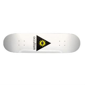 Planche à roulettes d'occultisme skateboard old school  21,6 cm