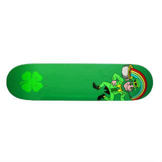Planche à roulettes du jour de St Patrick Skateboards Personnalisés