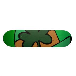 Planche à roulettes du jour de St Patrick Skateboards Cutomisables