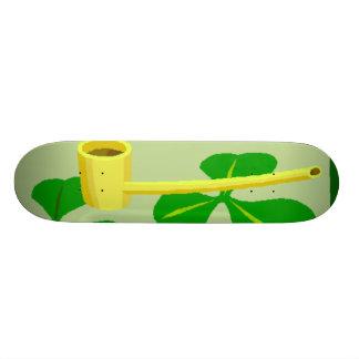 Planche à roulettes du jour de St Patrick Planche À Roulette