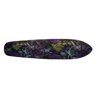 Planche à roulettes enchanteresse de forêt plateaux de skateboards customisés