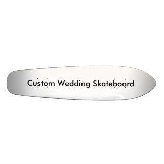 Planche à roulettes faite sur commande de mariage planches à roulettes customisées