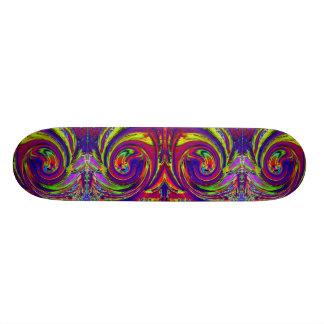 Planche à roulettes fraîche de remous de plateaux de skateboards customisés