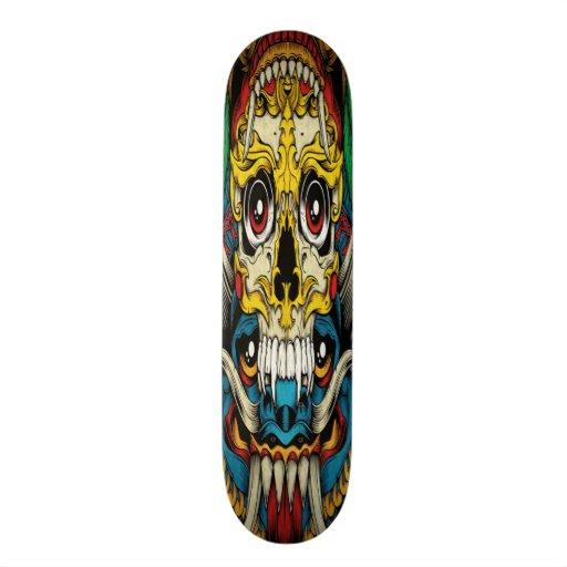 Planche à roulettes gothique de collage skateboards personnalisés