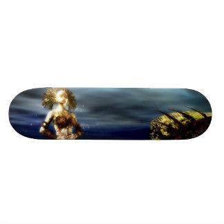 Planche à roulettes gothique de sirène plateaux de skate