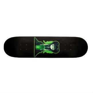 Planche à roulettes gothique féerique d'art skateboard customisable