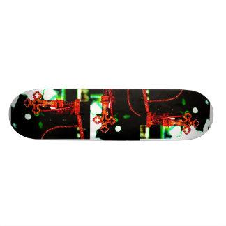 Planche à roulettes gothique skateboard old school  21,6 cm