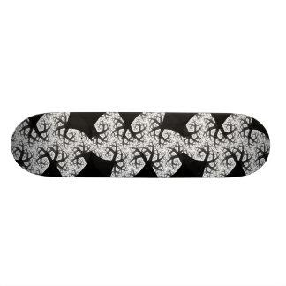 Planche à roulettes hantée de forêt skateboard customisable