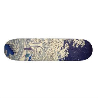 Planche à roulettes japonaise plateaux de skateboards customisés