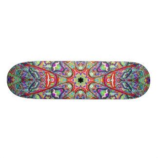 """Planche à roulettes """"masques tribaux"""" avant mars skateboard"""