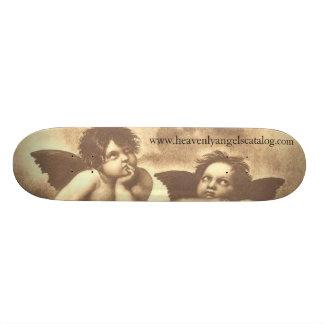 Planche à roulettes merveilleuse d'anges skateboard customisable