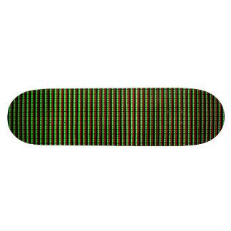 Planche à roulettes modelée par géométrie de skateboard  20 cm