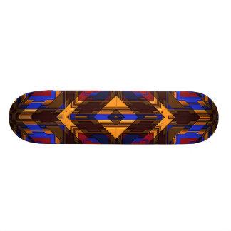 Planche à roulettes moderne du Natif américain 24 Mini Skateboard 18,4 Cm