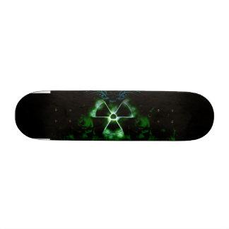 Planche à roulettes nucléaire impressionnante mini skateboard 18,4 cm