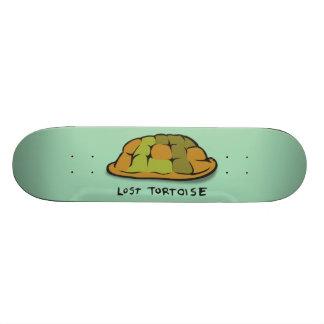 Planche à roulettes perdue de tortue plateau de skateboard