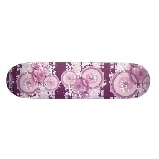 Planche à roulettes pourpre de brume skateboard