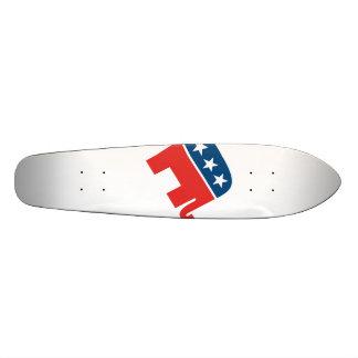 Planche à roulettes républicaine Oldschool Skateboard