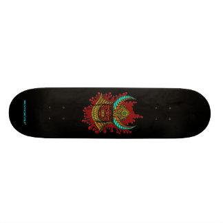 Planche à roulettes samouraï japonaise de cool de  skateboards customisés