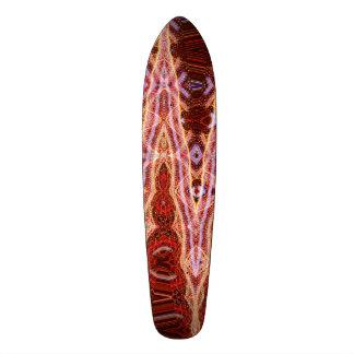 Planche à roulettes sanguine de point par skateboards