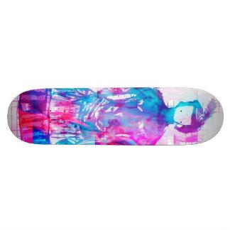 Planche à roulettes sans visage gothique de skateboard  20 cm