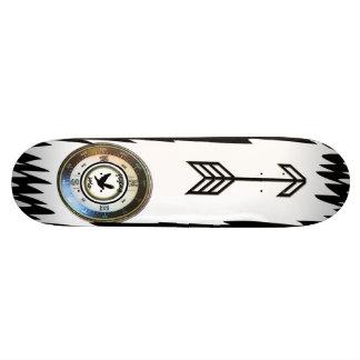 Planche à roulettes soloe volante de boussole skateboard old school  21,6 cm