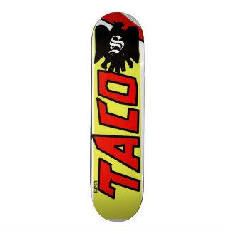 Planche à roulettes superbe de taco (conception de plateaux de skate