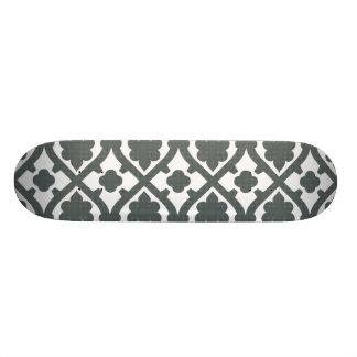 Planche à roulettes tissée de motif skateboard customisable
