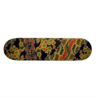 Planche à roulettes traditionnelle japonaise chic  skateboard 19,7 cm