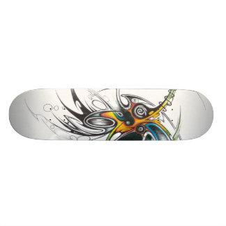 Planche à roulettes tribale abstraite skateboards