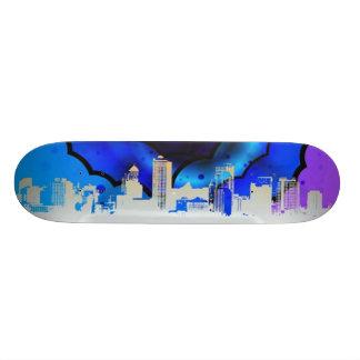Planche à roulettes urbaine d'arc-en-ciel skateboard customisable