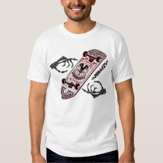 Planche à roulettes Vanwizle T-shirt
