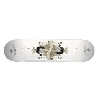 Planche à roulettes vintage de la Reine Skateboards Personnalisés
