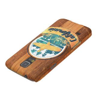 Planche de surf de la Californie Coque Pour Samsung Galaxy S5