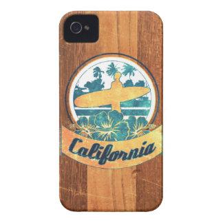 Planche de surf de la Californie Coques iPhone 4