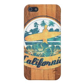 Planche de surf de la Californie Étui iPhone 5