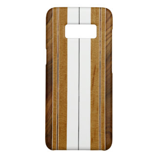 Planche de surf en bois de Koa de Faux de Nalu Muc Coque Case-Mate Samsung Galaxy S8