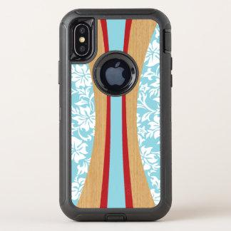 Planche de surf hawaïenne en bois de Faux de