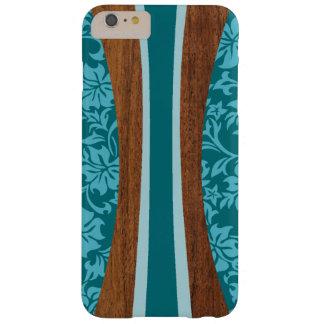 Planche de surf hawaïenne en bois de Faux de Coque Barely There iPhone 6 Plus