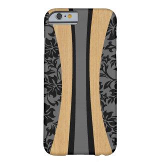 Planche de surf hawaïenne en bois de Faux de Lania Coque iPhone 6 Barely There