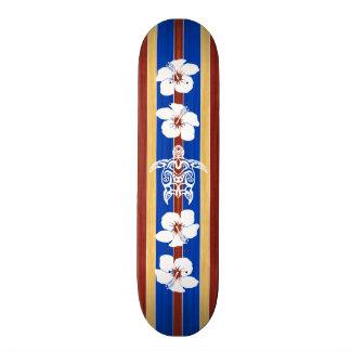 Planche de surf tribale de Honu Plateau De Planche À Roulettes
