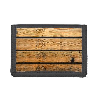 """Planche en bois emboutie avec """"fait aux Etats-Unis"""